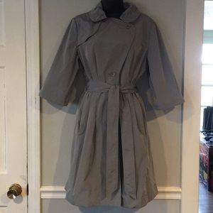 Banana Republic 3/4 sleeves, lined rain jacket